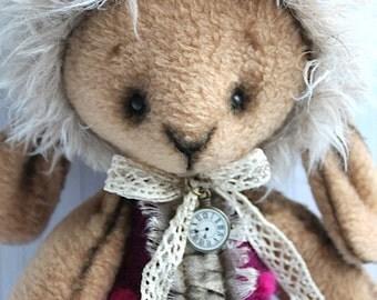 art doll, handmade, handmade doll, 15 inch