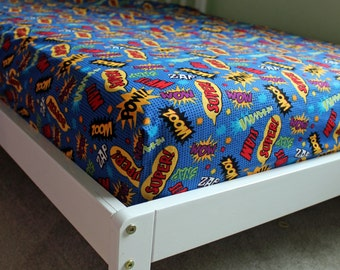Super Hero Comic Book Hero Bedding