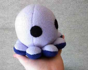 Cute Lilac and Purple Octopus Plushie