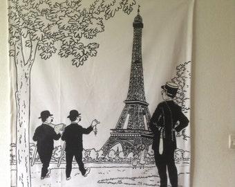 TINTIN Smith and Dupont in PARIS