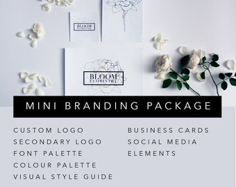 MINI BRANDING PACKAGE | Custom Branding Design Package | Business Branding