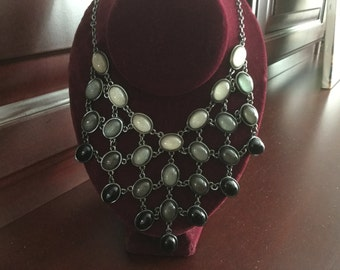 Black & Gray Necklace