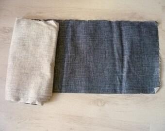 Upholstery Fabric  Denim colour