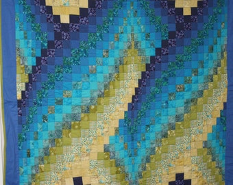 Twin Size Bargello Quilt