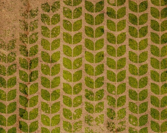Leaf Pattern Stencil