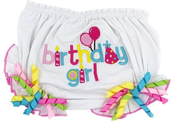 Birthday Girl Baby Bloomers