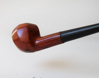 Briar Junior Pipe, Real Briar Tobacco Wood Pipe, Vintage Smoking Pipe