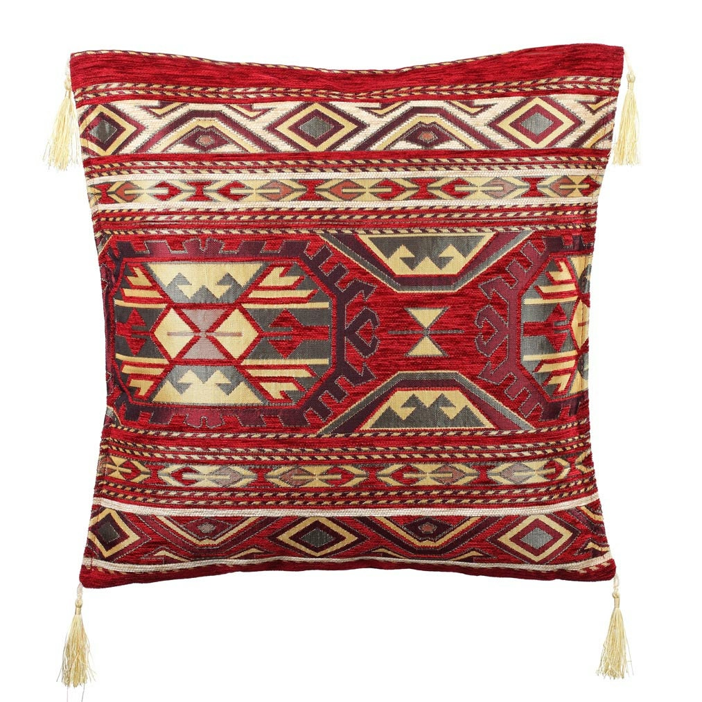 Turkish Kilim Pillow Cover Rug Decorative Pillow by Antalyakilims