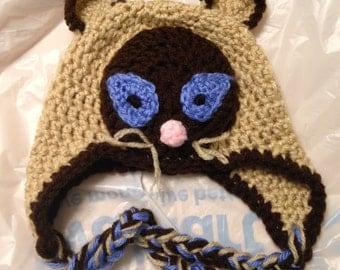 Siamese Kitten Hat