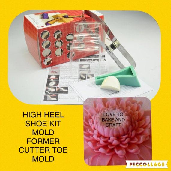gumpaste high heel shoe kit 28 images fondant high