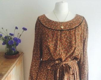 Beautifull Floral Handmade Dress