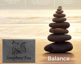 Organic Balance - Detox/Anti-Acne  Soap BIG BARS -  100% Natural and Handmade