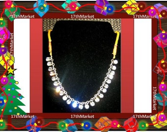 Crystal Bollywood Necklace Set
