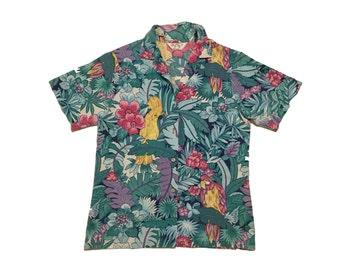 80's Hawaiian Button Up