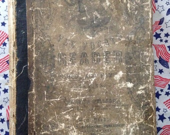 1860 Harper's Series School and Family Reader Fourth Reader