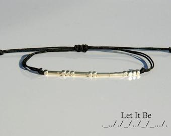 Morse code bracelet-Custom morse code bracelet-Custom,Word,Name bracelet-Sister morse code bracelet-BFF morse code bracelet-Message bracelet
