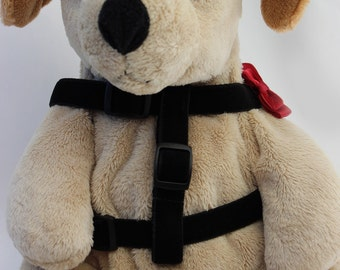 Bowtie Red Step-In Dog Harness