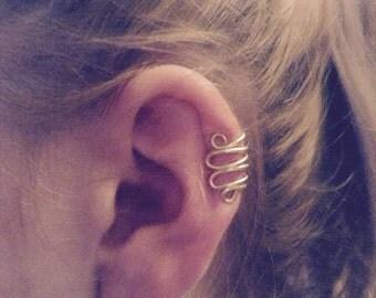 Wrapped ear cuff