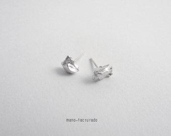 Silver Matter Studs