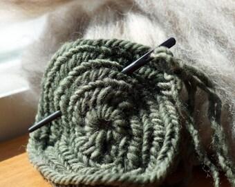 Horn Nalbinding Needle, Nalbinding Needle, Nålbinding Needle, Naalbinding Needle