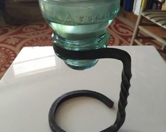 Insulator candle holder
