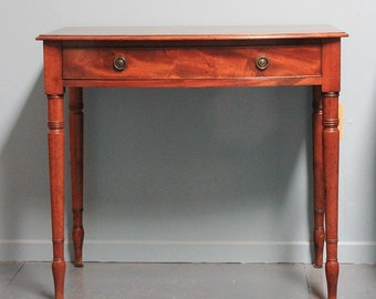 Regency side table - antique furniture