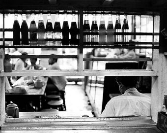 From the kitchen, Rangoon, Burma.