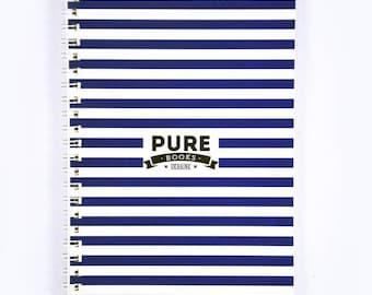 Sketchbook Notebook PUREbooks Blue