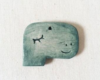Dinosaur ceramic hanging