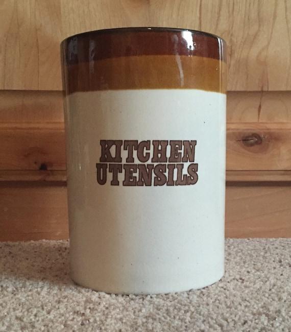 kitchen utensil pottery jar canister holder pearsons of nambe kitchen utensils amp tulip canister