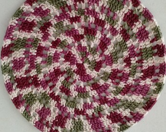 Crochet Wheeling Placemat/Tablemat (Set of 6) for Dining Table - Knot My Designs