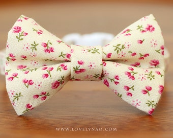 Jasmine Cat Bow Tie Collar