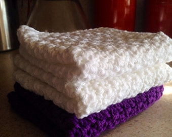Crochet Dishcloth, Crochet Washcloth