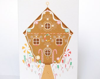 "Map ""gingerbread house"""