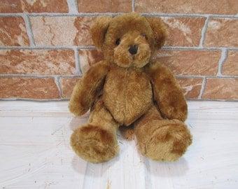Vintage Teddy Bear /  Teddy Bear Toy /  Stuffed Animals /  Plush Toy /  Brown Teddy Bear /  Vintage toy /  Brown bear