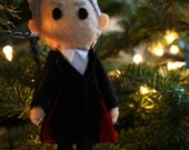 Handmade Twelfth Doctor Ornament