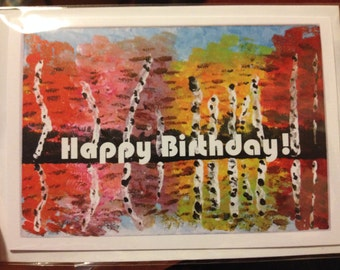 Colourful Greetings Cards! Original Art, Paintings for Special Occasions