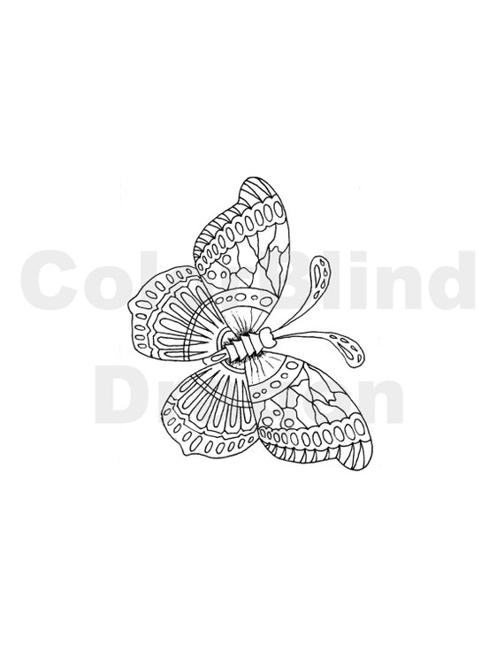 butterfly garden kit coloring pages - photo#26