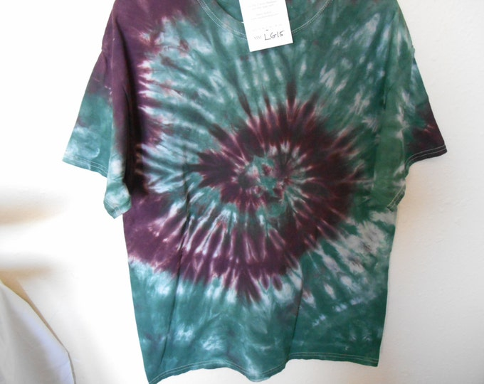 100% cotton Tie Dye T-shirt MMLG15 Size Large
