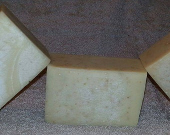 Goat's Milk Soap - Unscented with Oatmeal