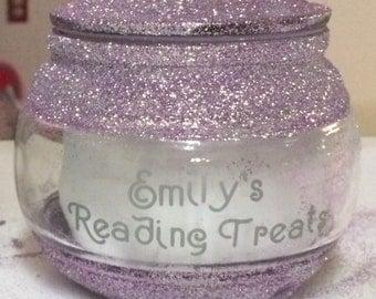 Reading treat jars