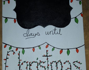 Countdown to Christmas hangers