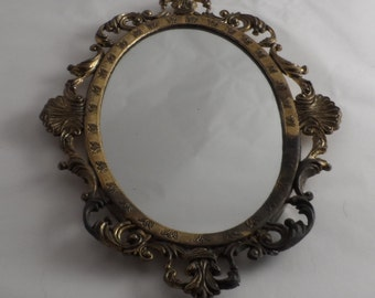Small old mirror