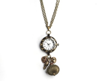 Pocket Watch necklace watch