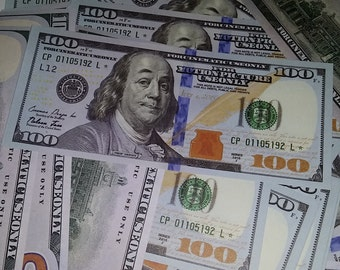 New Style 100s Full Print Double Sided Prop Money