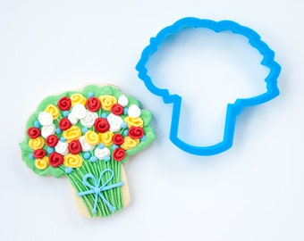 Flower Bouquet Cookie Cutter