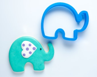 Elephant Cookie Cutter | Baby Shower Cookie Cutters | Animal Cookie Cutters | Unique Cookie Cutters | Baby Elephant Cookie Cutter