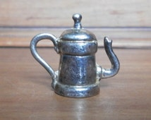 Coffee pot miniature for doll's house or decoration