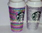 Bling Starbucks Cup