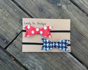 bow headband set